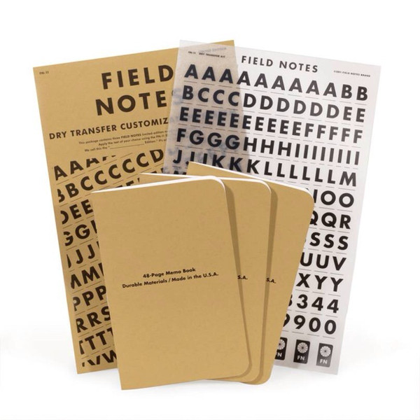 Field Notes Dry Transfer Limited Edition — Walker Shop