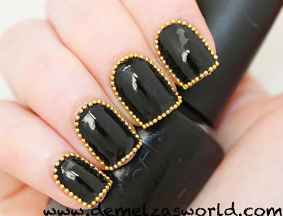 5 Killer DIY Studded Manicures We Need To Try