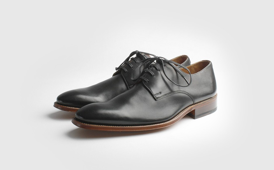 Black Leather Shoes Size 9D Grenson Kirk Philippines - 7816479