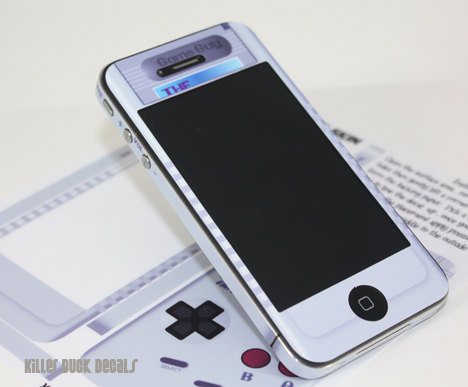 Deluxe Edition Game Guy iPhone 4 AT&T Version by killerduckdecals