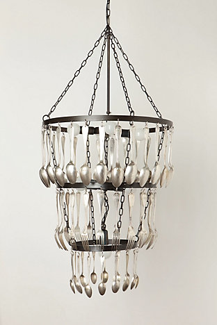 Eat, Drink And Be Merry Chandelier - Anthropologie.com