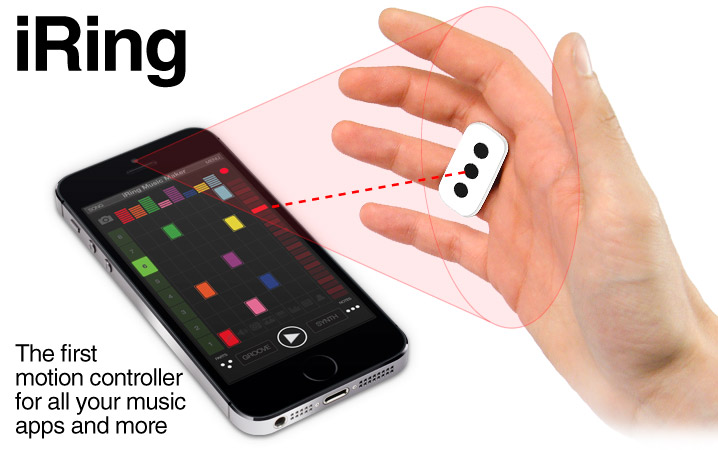 IK Multimedia | iRing - The first motion controller for all your music apps and more