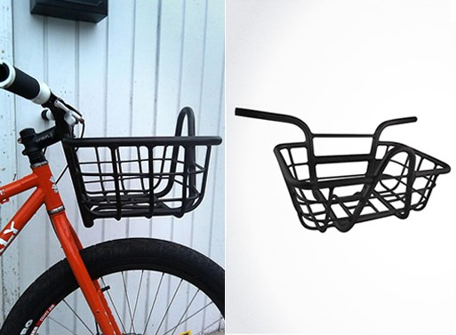 Evo Bicycle Handlebar Basket — Bicycles -- Better Living Through Design