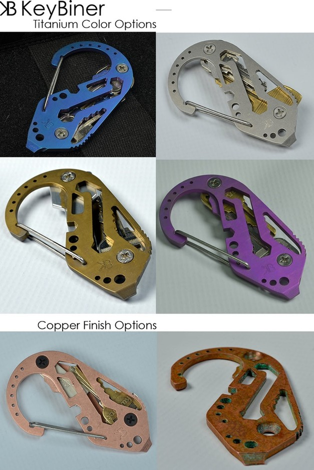 KeyBiner - The Carabiner Refined by Fortius Arms — Kickstarter