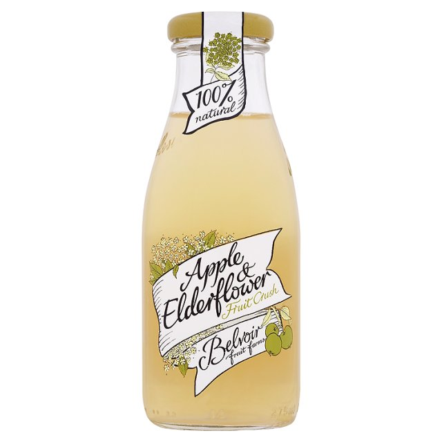 Ocado: Belvoir 'Fruit Crush' Apple & Elderflower (Product Information)