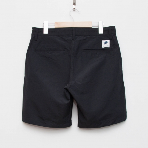 Cotton/Nylon Short Pants - Black - cup and cone WEB STORE