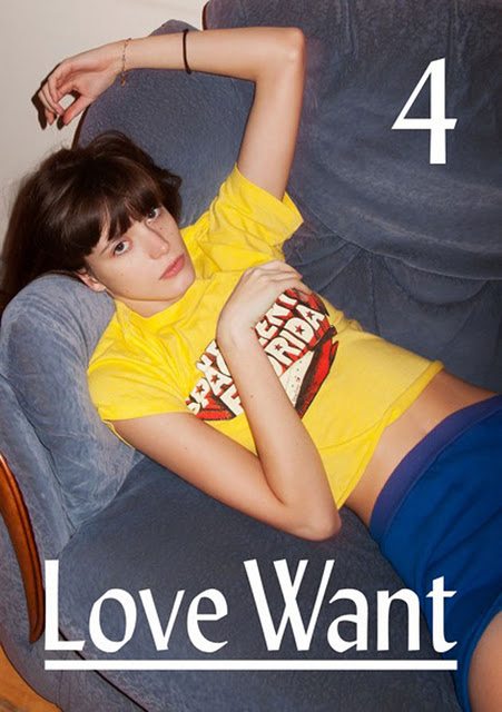 ThE GiRL Is DoWn UnDeR: LoVe WaNt MaGaZiNe. 4 - StAcY MaRtiN