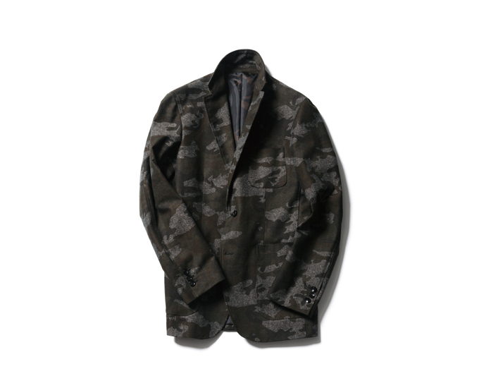SOPHNET. | PRODUCT | CAMOUFLAGE COTTON HOME SPAN 2 BUTTON JACKET
