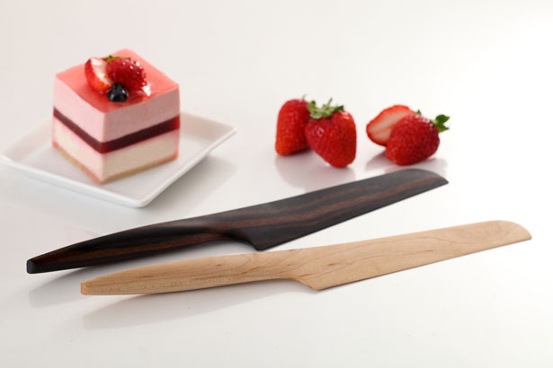 Fusion Wooden Kitchen Knives Collection by Andrea Ponti | Tuvie