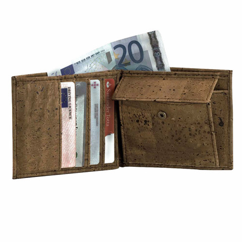 Buy Cool Wallet Made from Cork | Shop With Free Shipping | Corkor.com