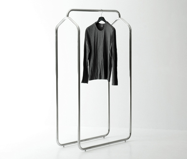 Axis Clothes Hanger Stand by Ramei Keum » Yanko Design