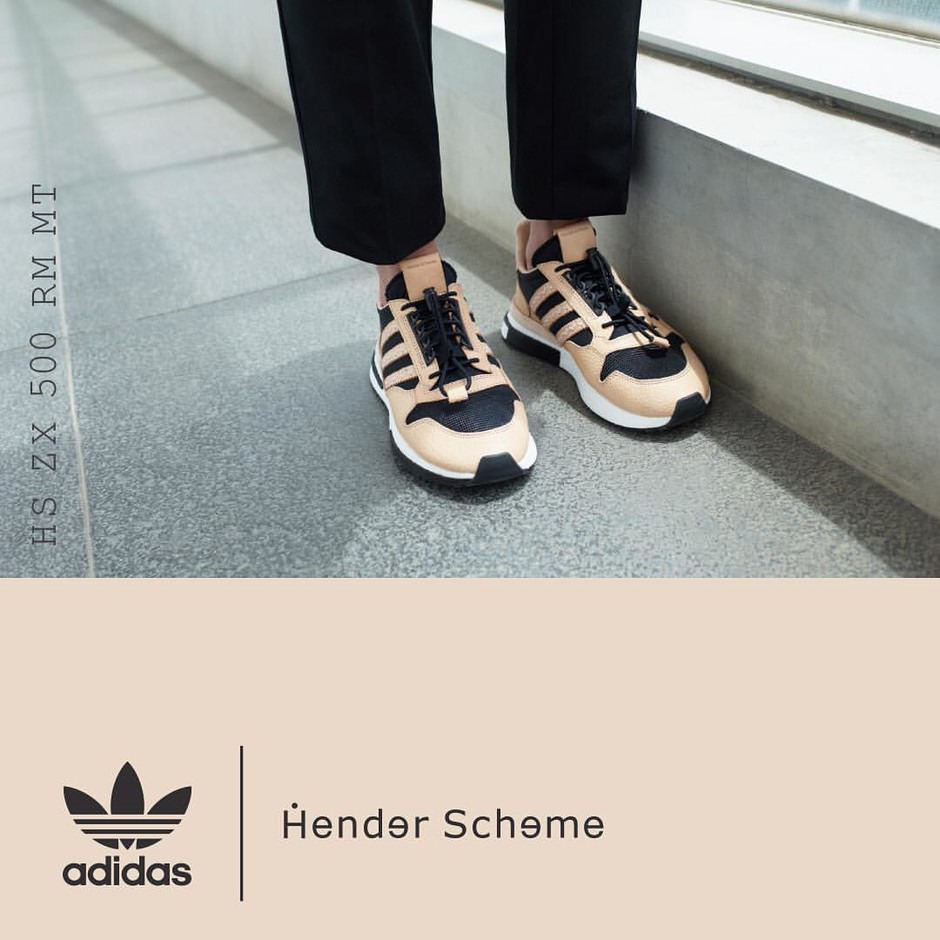 Hender SchemeさんはInstagramを利用しています:「Arriving in stores today.  HS ZX 500 RM MT is available in two colorways and features a combination of two leathers with a mesh textile…」