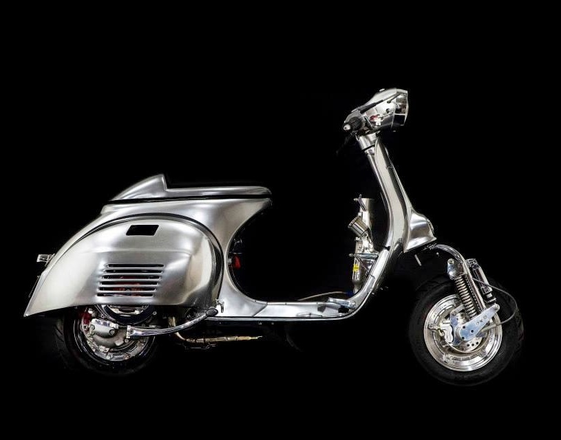 The Scooterist: Vespa Street Racer with NOS