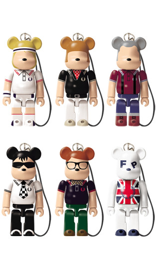 FRED PERRY BE@RBRICK - BE@RBRICK23