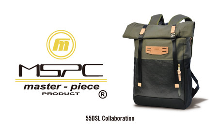 55DSL × master-piece EXCLUSIVE BAG
