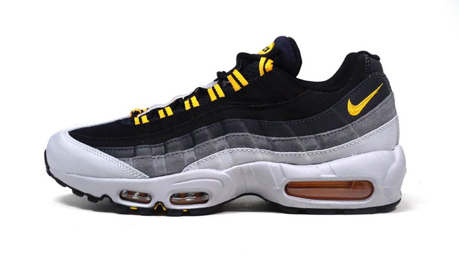 """AIR MAX 95 ESSENTIAL """"LIMITED EDITION for ICONS"""" GRY/BLK/YEL ナイキ NIKE 