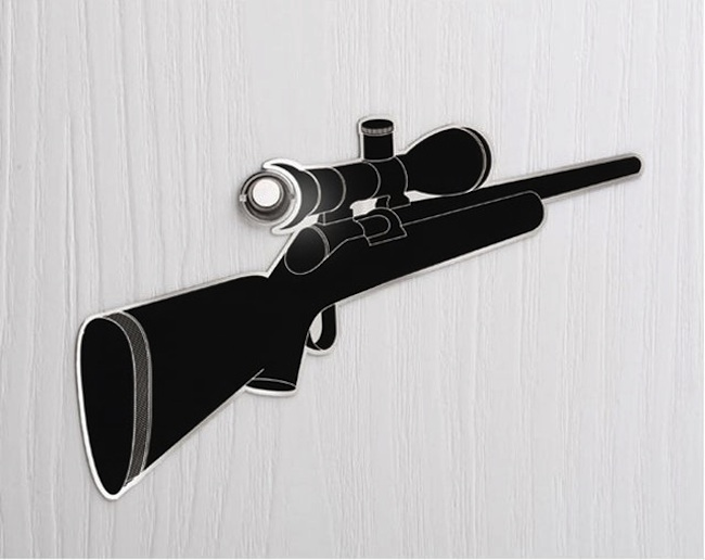 Sniper Peephole Decal | Gadget Review