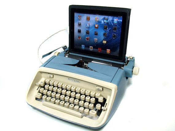 USB Typewriter Computer Keyboard Royal Safari c by usbtypewriter