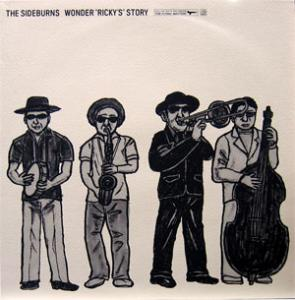 "THE SIDEBURNS / WONDER ""RICKY'S"" STORY - 中古レコードのお店 PennyLane"