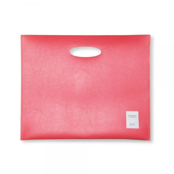 FILE BAG / RegularLine レッドピンク - COET OnlineShop