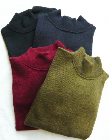 【ANATOMICA】USN MOCK NECK SWEATER|kink online shop