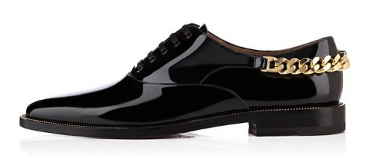 stage flat black patent leather