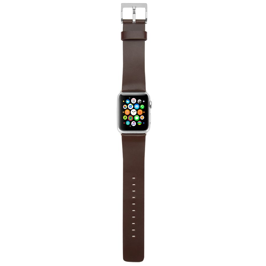 Leather Band for Apple Watch 38mm Black Designed by Incase