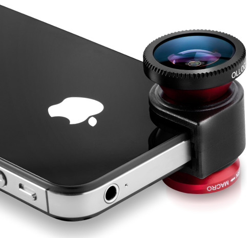 iPhone macro lens, iPhone wide angle lens, iPhone fisheye lens, iPhone lens attachment
