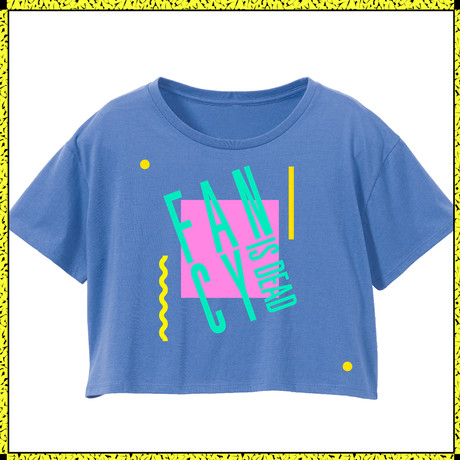 FANCY IS DEAD/blue | STEREO TENNIS FANCY SHOP