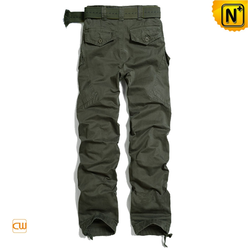 Military Green Cargo Pants Trousers for Men CW100032