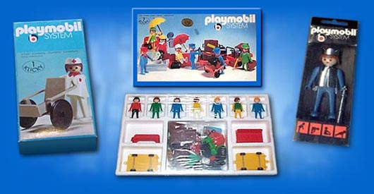 Collectobil - PLAYMOBIL® Packaging throughout the years