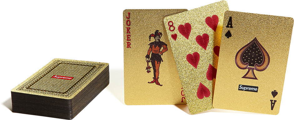 Supreme : Gold Deck of Cards | Sumally (サマリー)