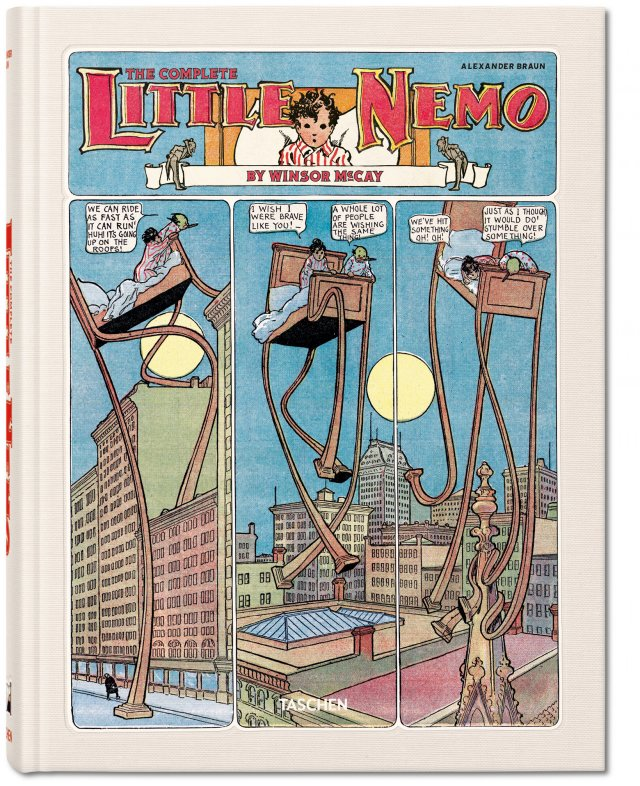 Winsor McCay. The Complete Little Nemo. TASCHEN Books (XL-Format)
