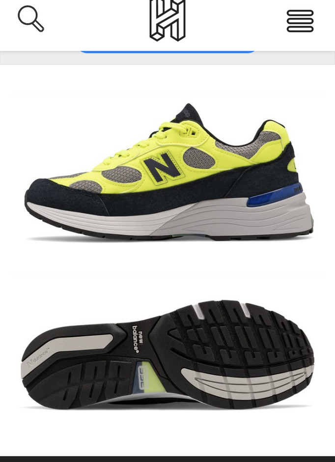 New Balance 992 Appears in New Volt, Fawn and Black Colorway - HOUSE OF HEAT   Sneaker News, Release Dates and Features