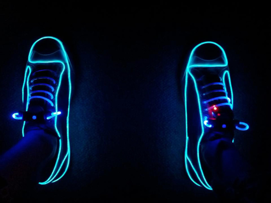 NEON CONVERSES by ElectricApparel on Etsy
