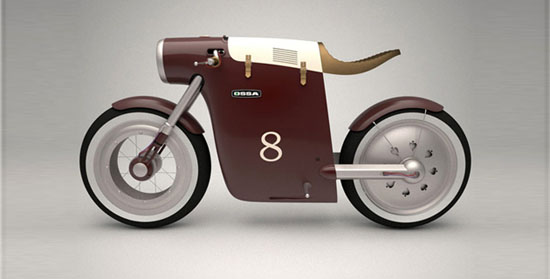 Monocasco concept bike by Art-tic