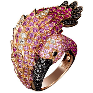 boucheron flamingo ring - Google 画像検索