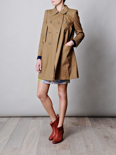 Trench coat | Carven | Matchesfashion.com