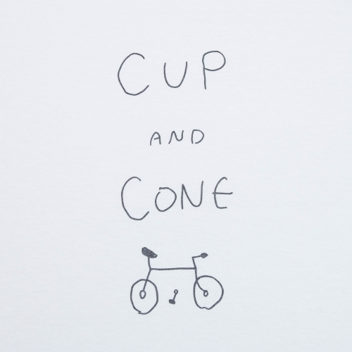 Joji-san Tee - White - cup and cone WEB STORE