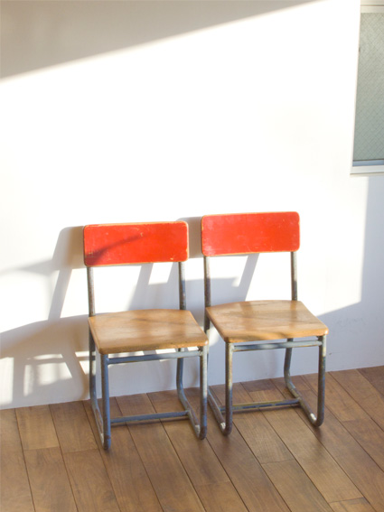 Mini Chair Red (France) / RECTOHALL