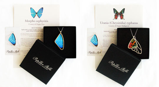 Papillon Belle | Butterfly Jewelry