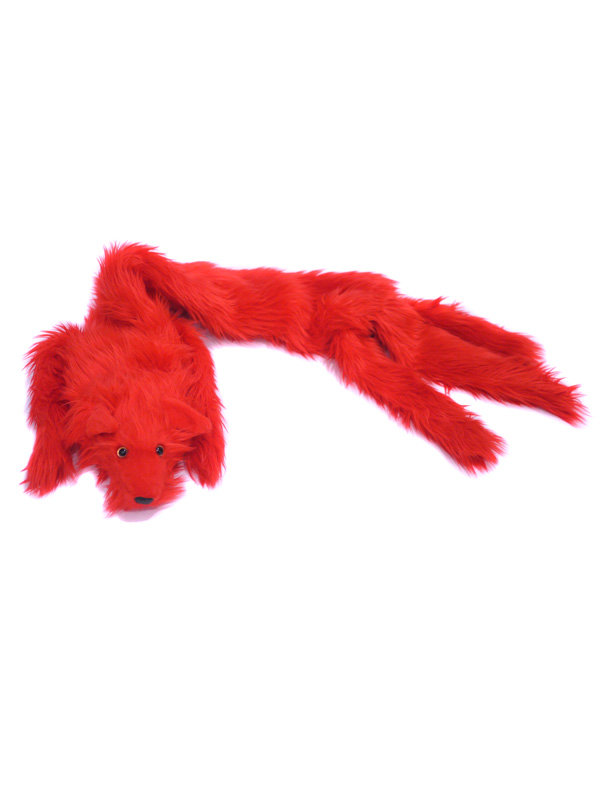 JEREMY SCOTT::FAUX FUR FOX SCARF (FAN)||OnEshop