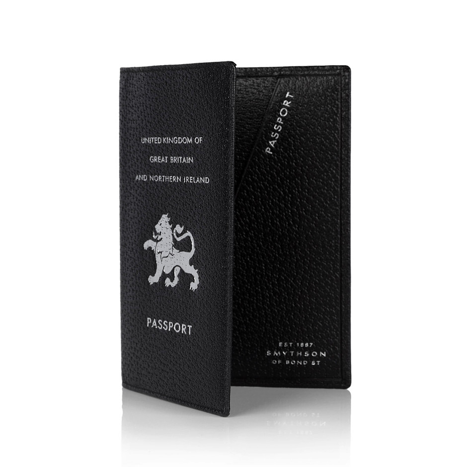 All sizes | Smythson Black Leather Passport Holder | Flickr - Photo Sharing!