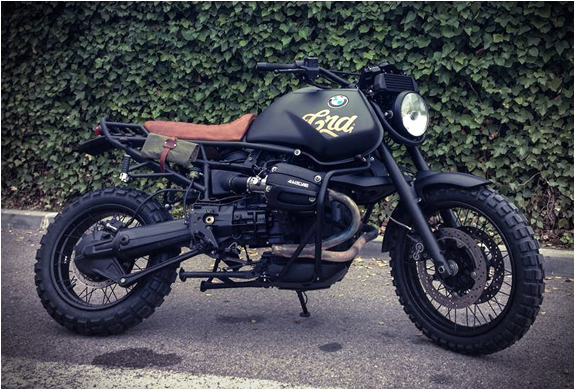 RocketGarage Cafe Racer: BMW R1100 by Cafe Racer Dreams