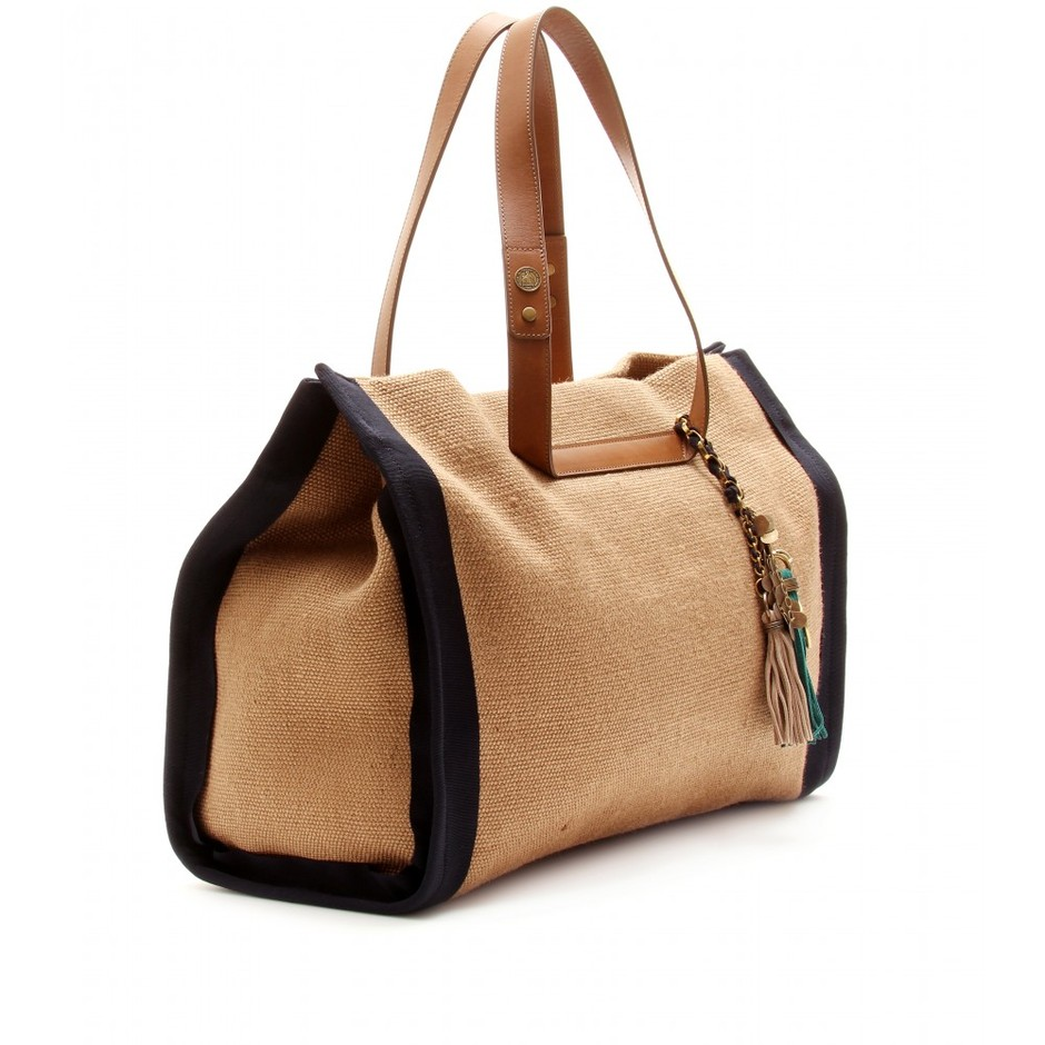 mytheresa.com - Lanvin - JUTE SHOPPER TOTE - Luxury Fashion for Women / Designer clothing, shoes, bags
