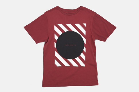 Saturdays Surf NYC | Online Store | Circle Stripe Square T-Shirt