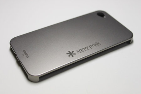 Titanium Cover for iPhone 4