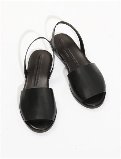 Woman by Common Projects Slide w/Strap- Black