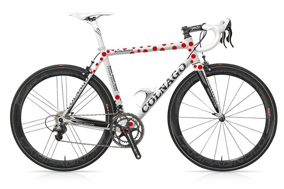 Thomas Voeckler's Polka Dot Colnago C59 available to buy | road.cc | Road cycling news, Bike reviews, Commuting, Leisure riding, Sportives and more