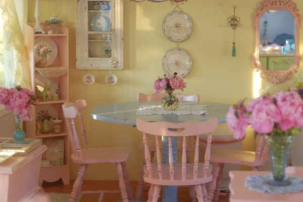 Room / ..in a pink cottage somewhere.........
